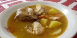 Csirkebecsinált leves
