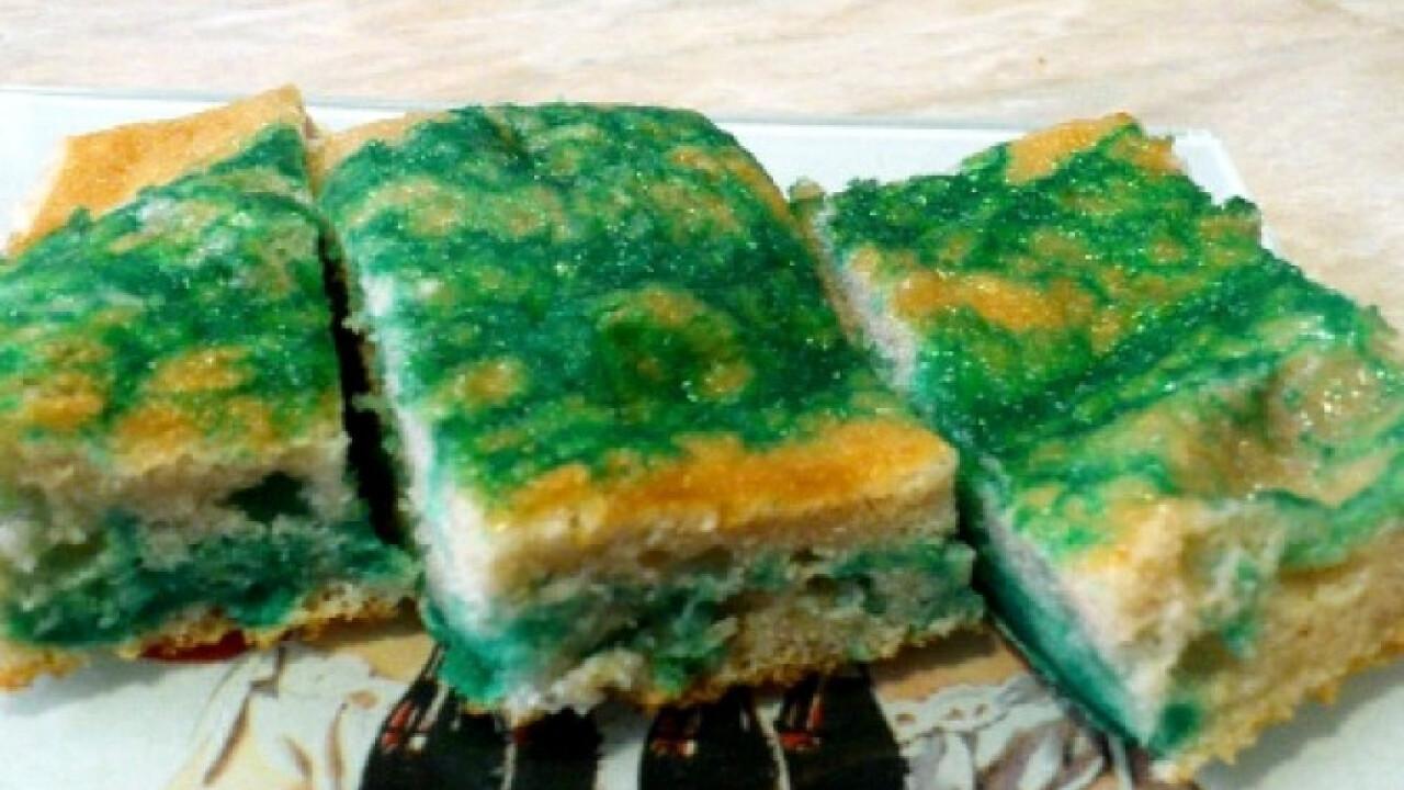 Zöld süti Kyngától