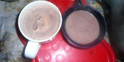 Forró csoki Kisvikica konyhájából