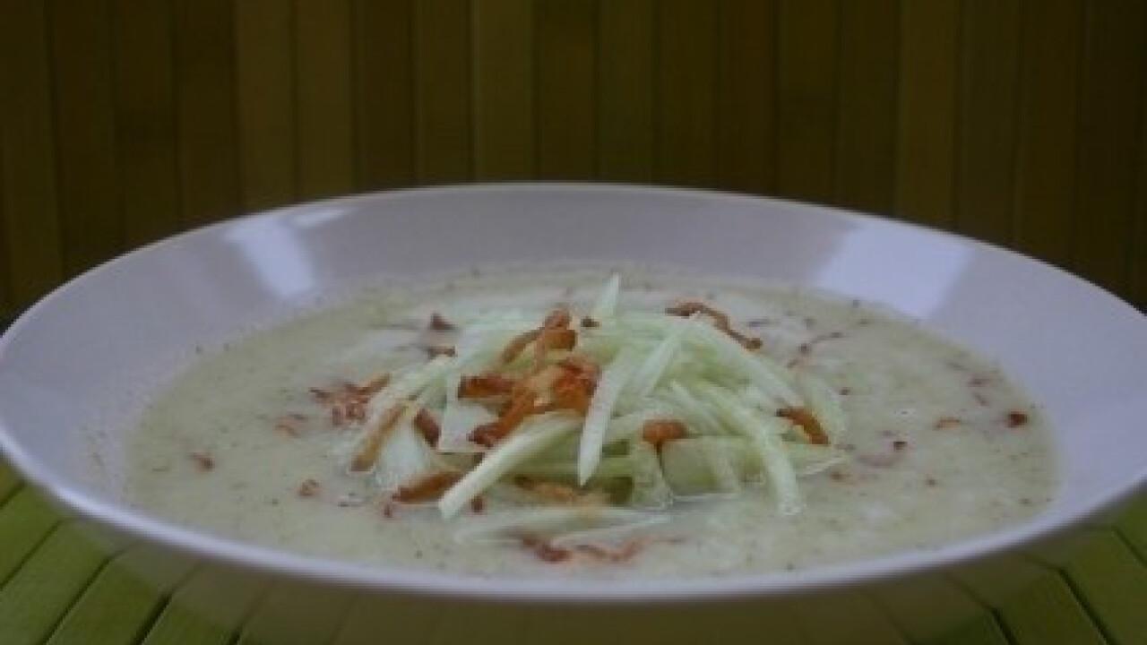 Hideg kovászosuborka-leves (Kovászosuborka leves 3.)