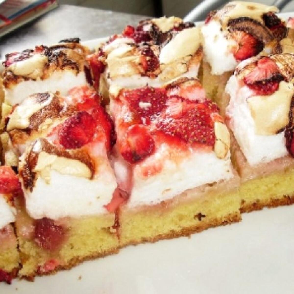 Epres-habos sütemény