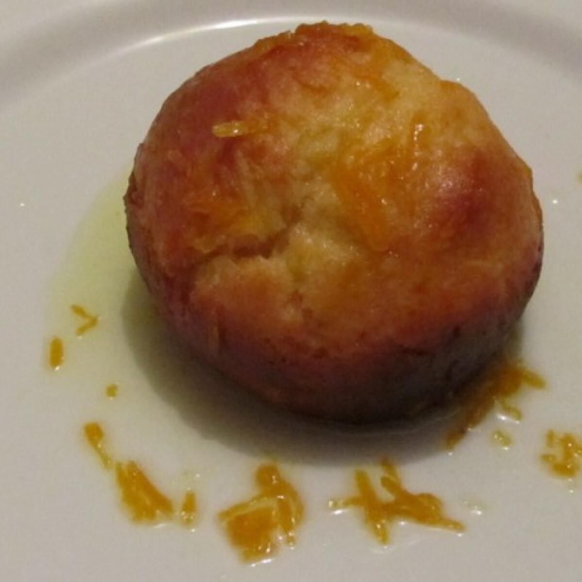 Narancsos fánkok sütőben