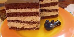 Kakaós-mézes sütemény