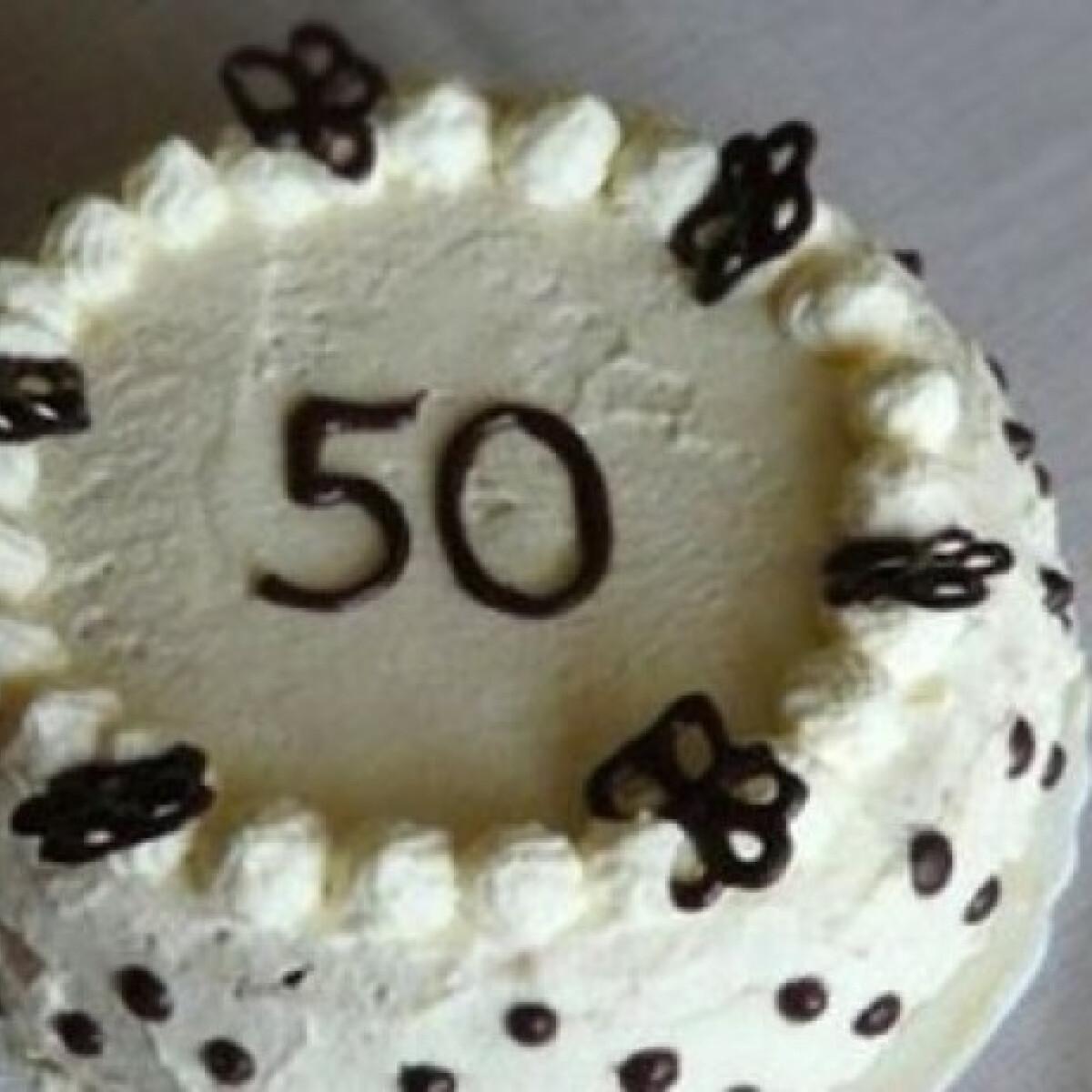 Kávés-csokis torta