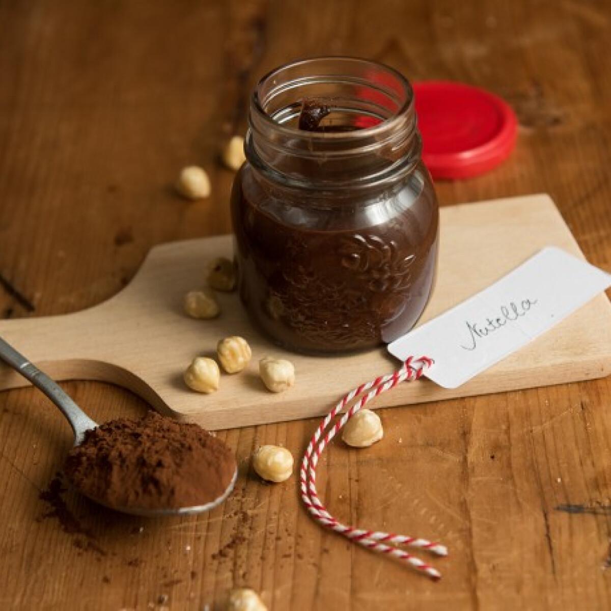 Ezen a képen: Házi gyors nutella