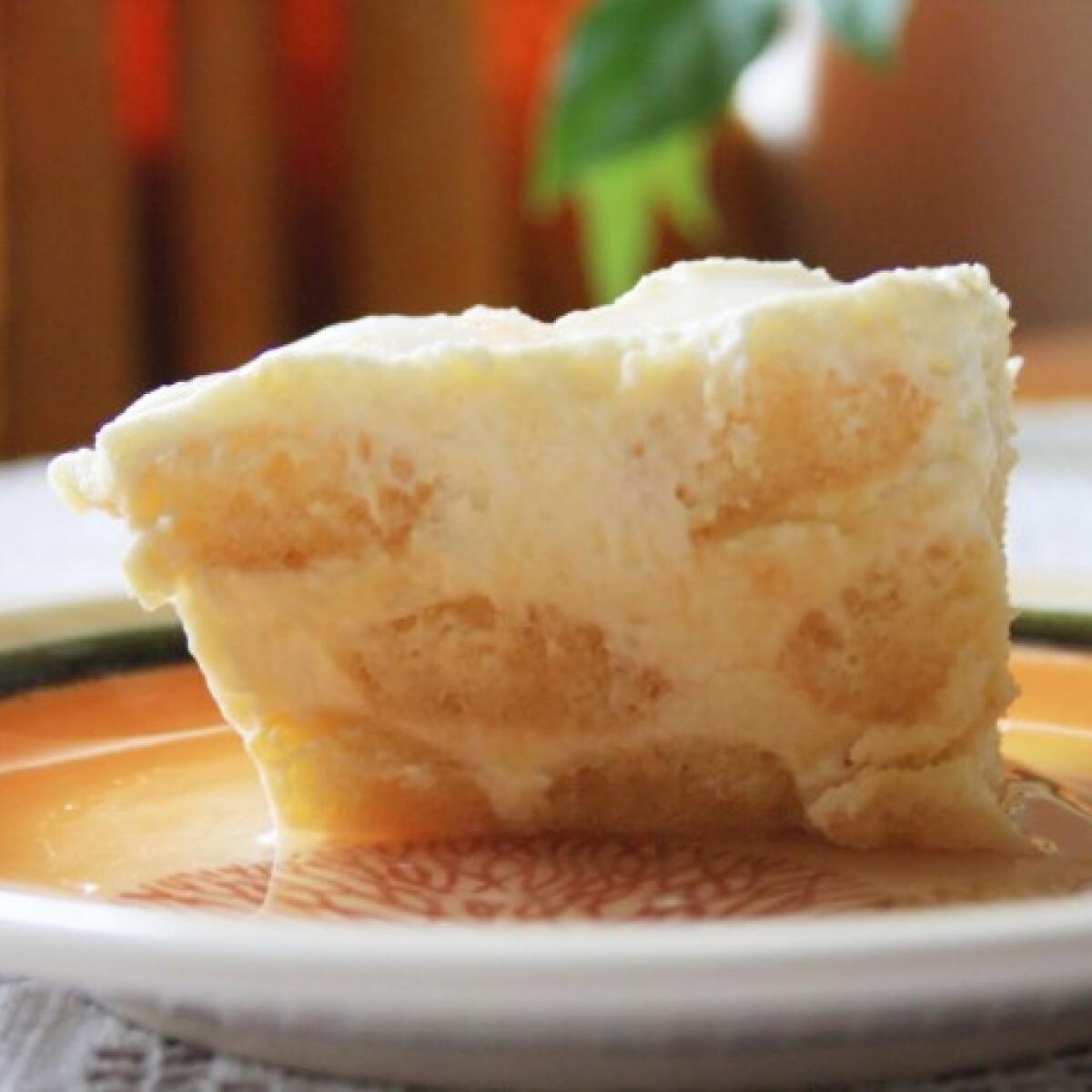 Ezen a képen: Citromos babapiskótás desszert