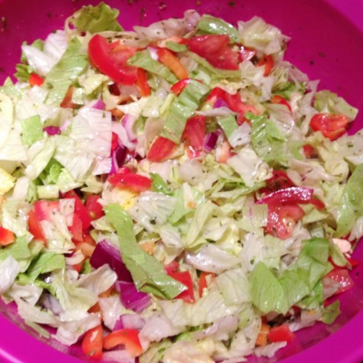 Roppanós salátakeverék