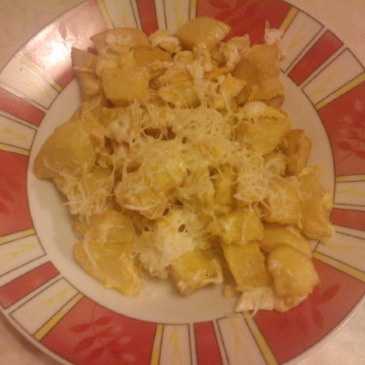 Ezen a képen: Tojásos sült krumpli