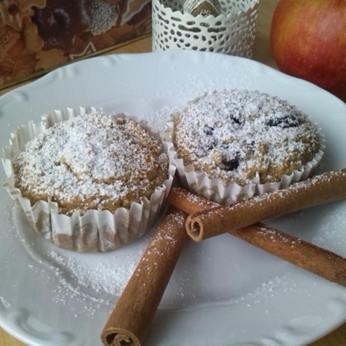 Ezen a képen: Adventi almás gyömbéres muffin reform módon