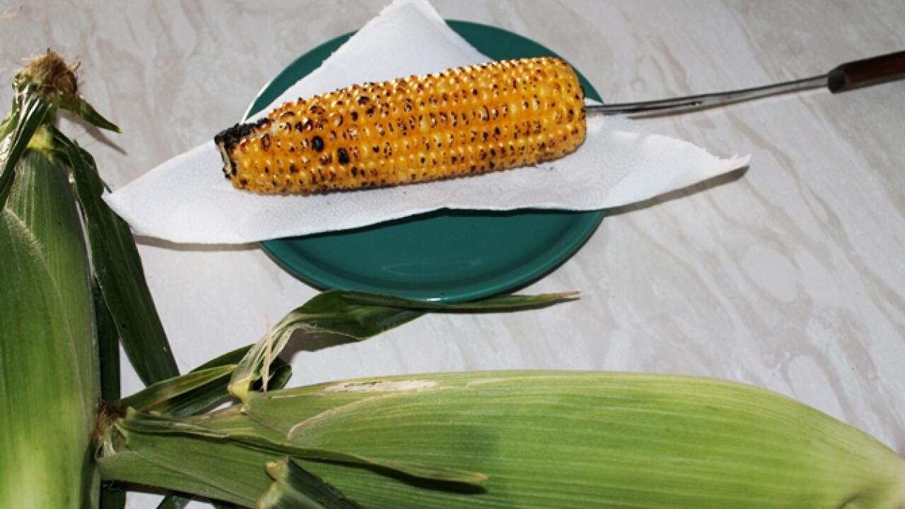 Sült kukorica egyszerűen