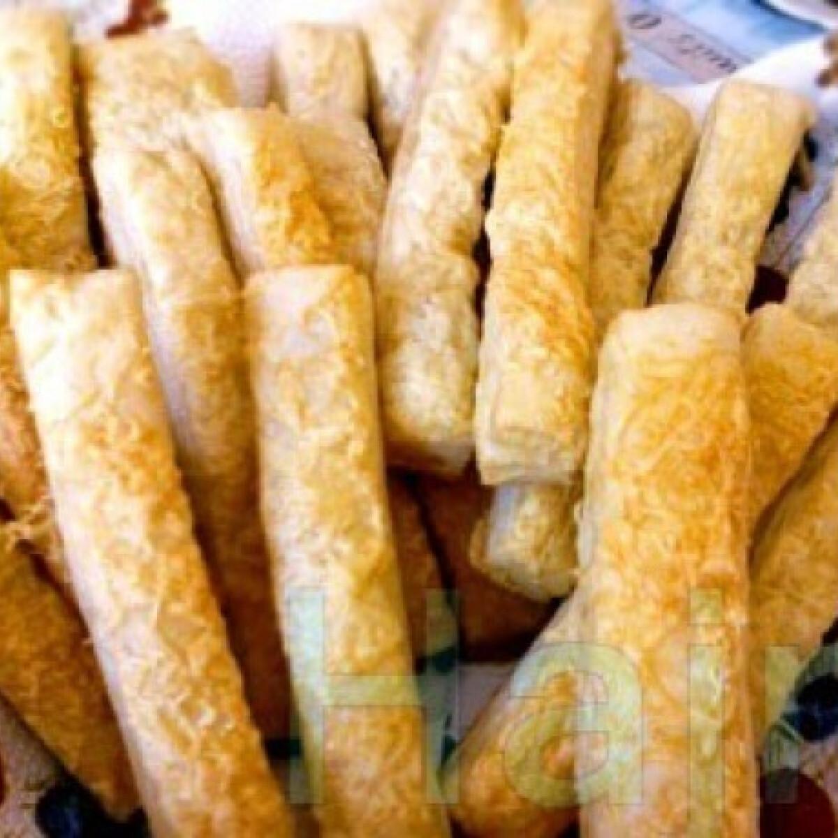 Ezen a képen: Sajtos stangli -fűszeres
