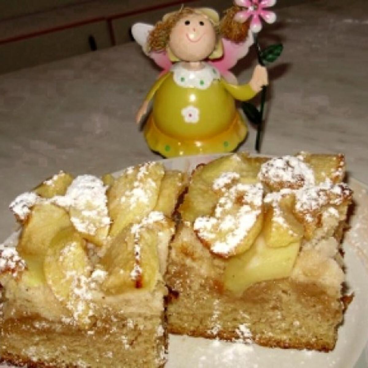 Ezen a képen: Almás lepény Boszi konyhájából