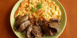 Sárgarépa-főzelék csirkemájjal