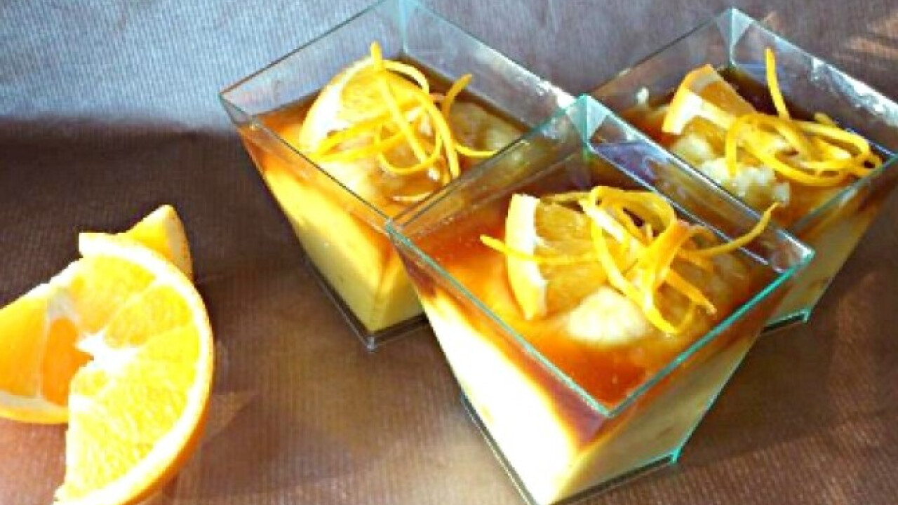 Narancsos grízpuding karamellöntettel