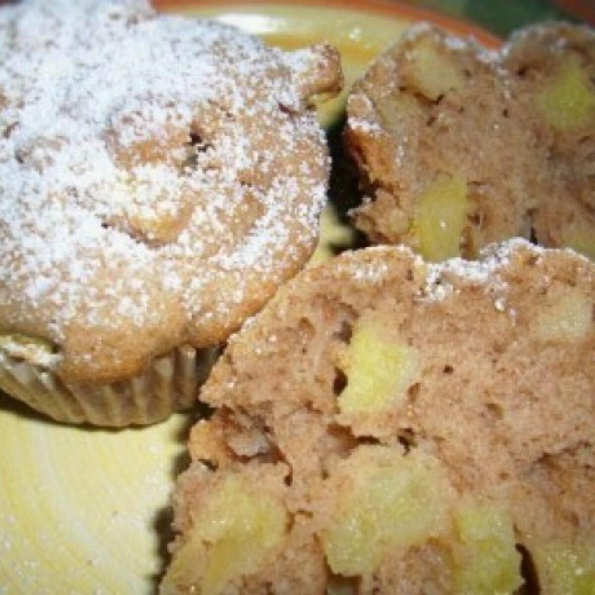 Ezen a képen: Almás-fahéjas muffin másként