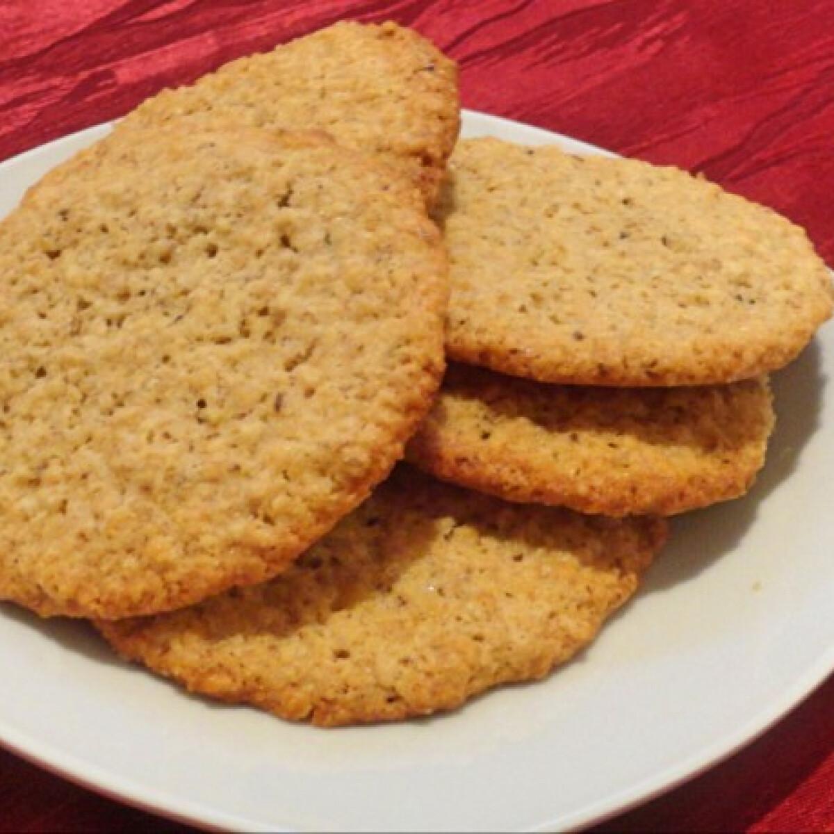 Ezen a képen: Zabpelyhes cookie Glaser konyhájából