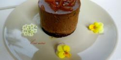 Tonkababos narancsos csokoládé mousse