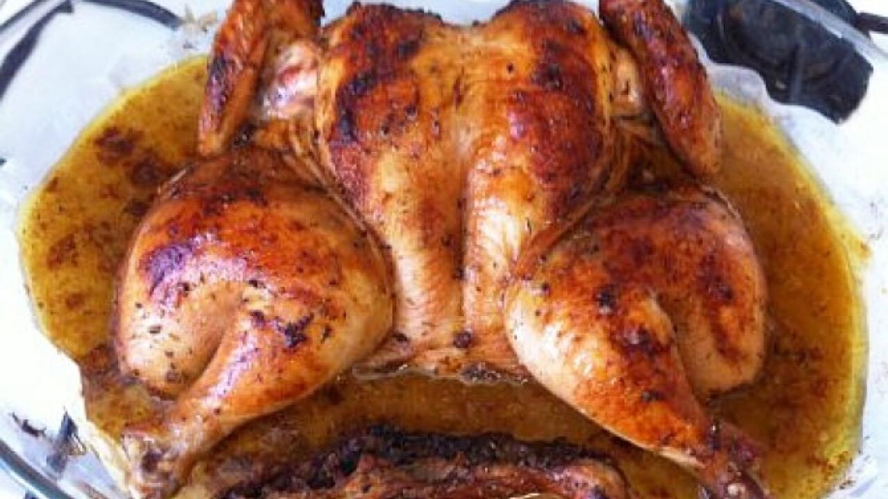 Marinált sült csirke