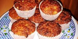 Csipkebogyó lekváros muffin