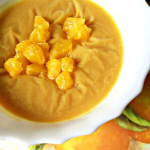 Narancskrémleves