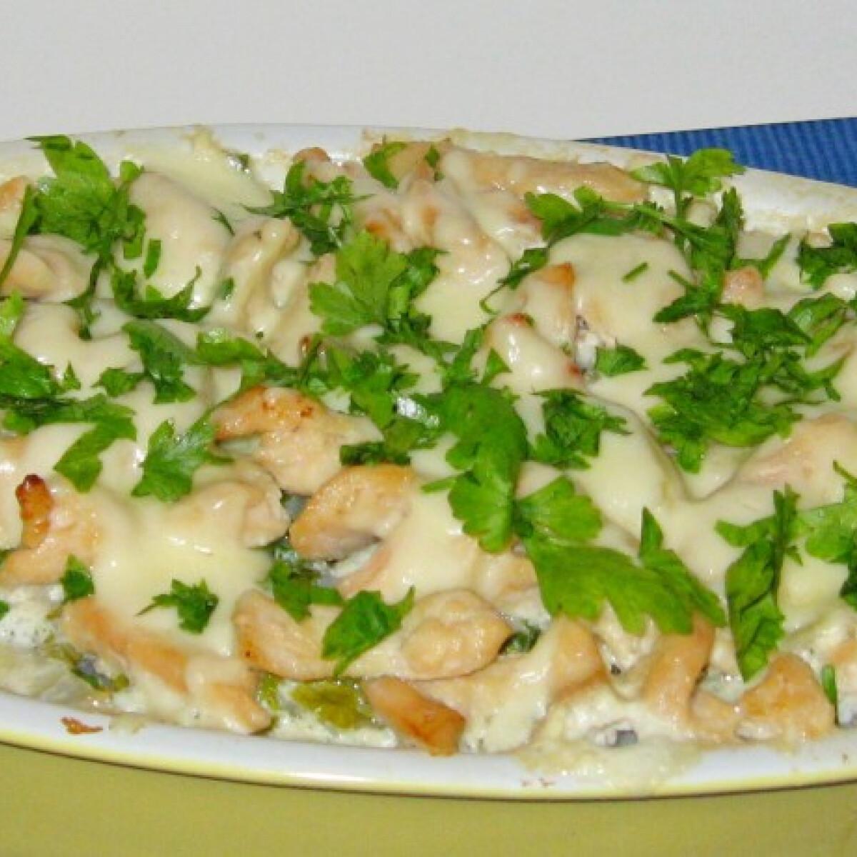 Ezen a képen: Csőben sült karalábé Marcsisef konyhájából
