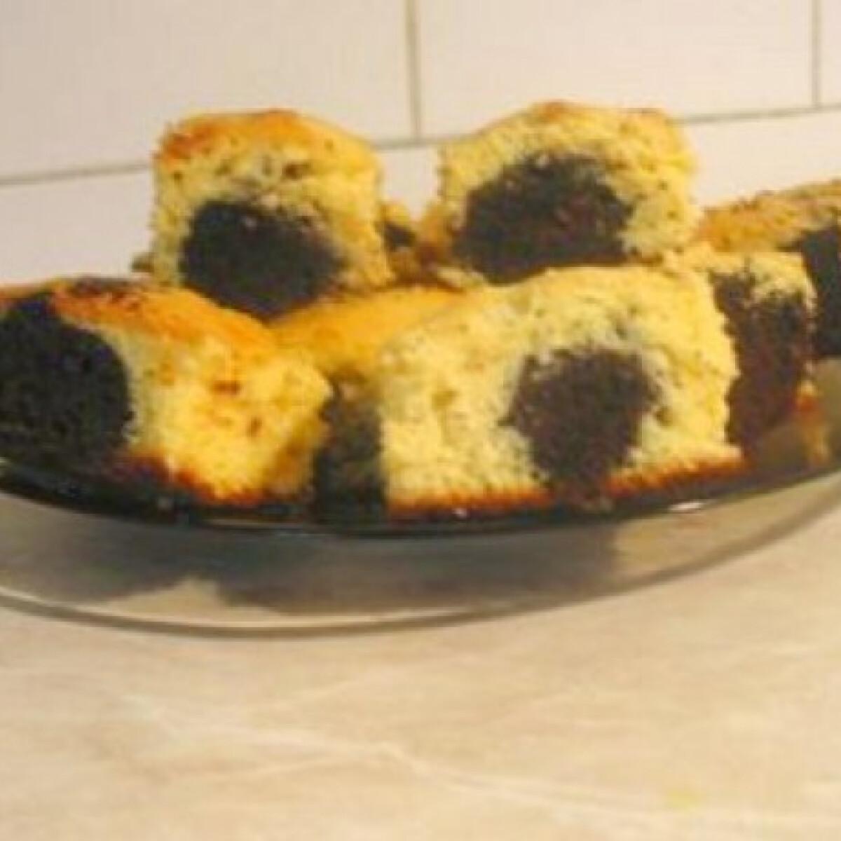 Ezen a képen: Csokigolyós túrós süti Gabys konyhájából