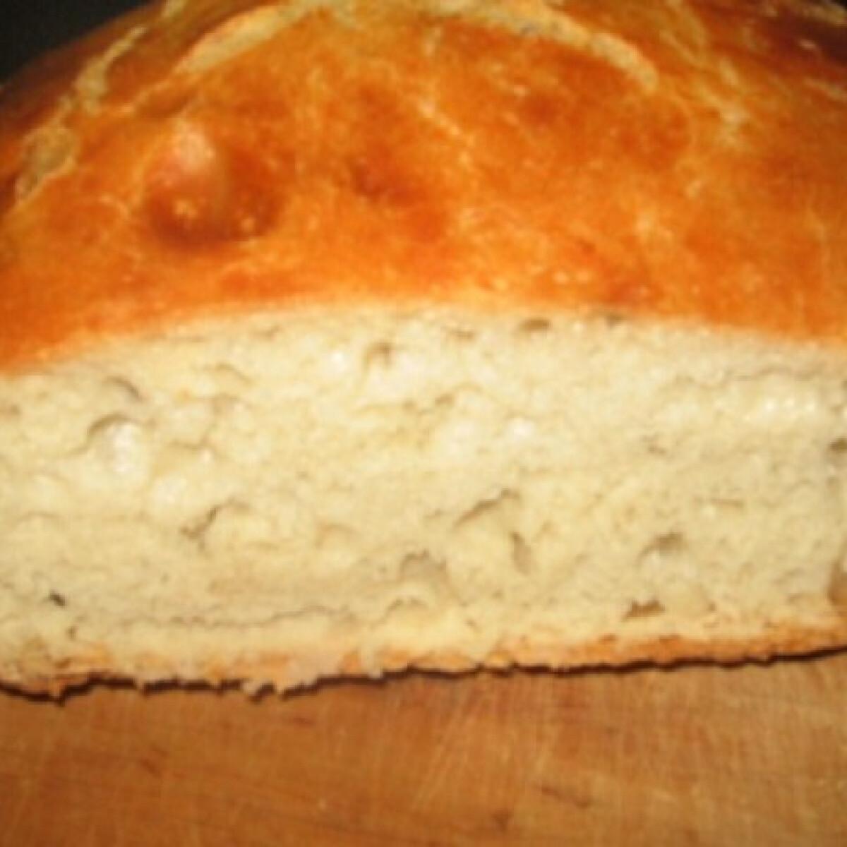 Ezen a képen: Dagasztás nélküli kenyér GanoMamától