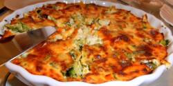 Brokkolis-sajtos sült burgonyapüré