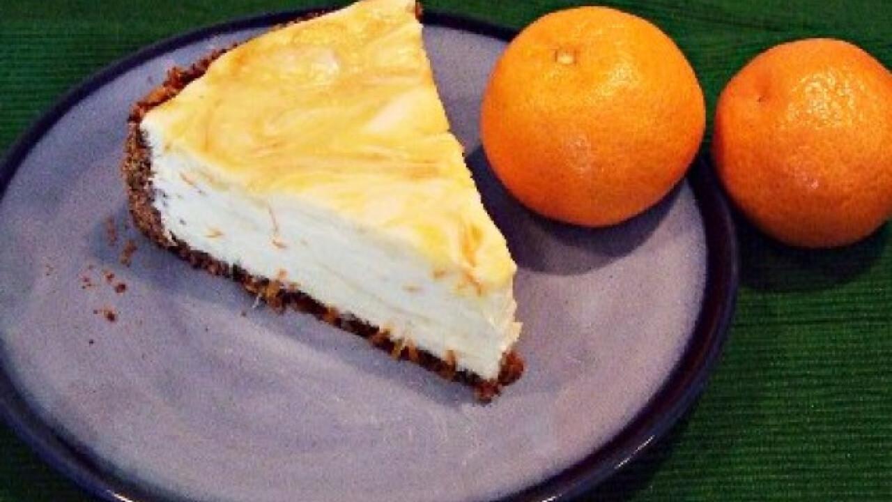 Narancsos sajttorta