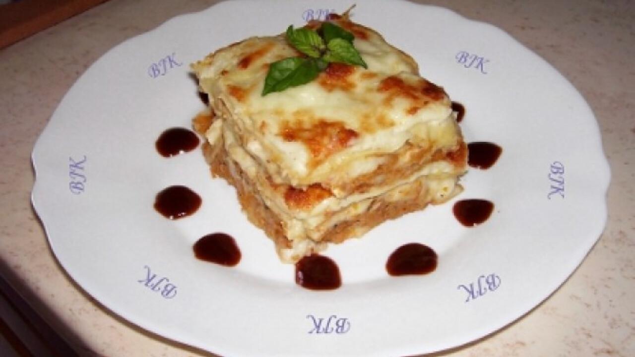 Lasagne Bjkata konyhájából
