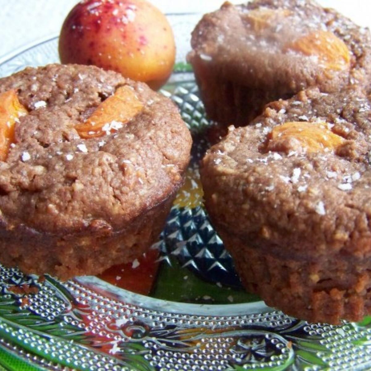 Sárgabarackos muffin pipőke konyhájából