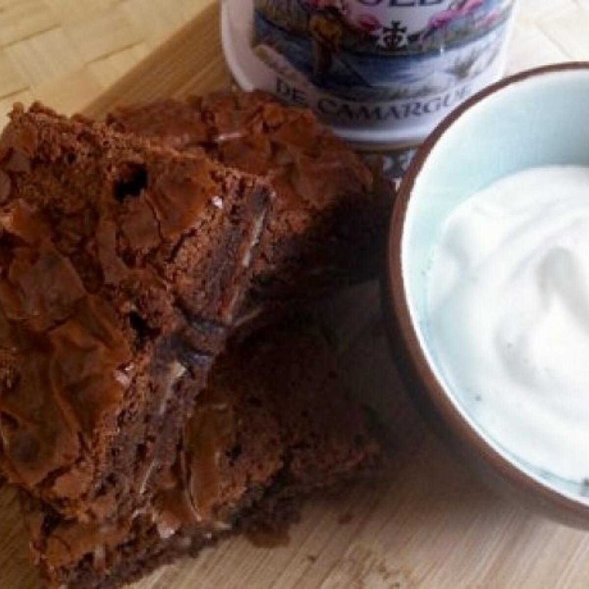 Új-Zélandi tejcsokis brownie