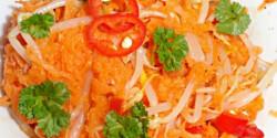 Ázsiai sárgarépa-saláta