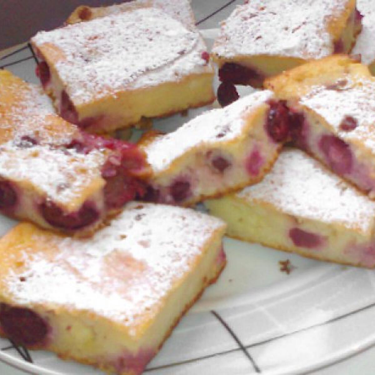 Ezen a képen: Meggyes-túrós Manuella konyhájából