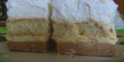 Babapiskótás-gesztenyés süti