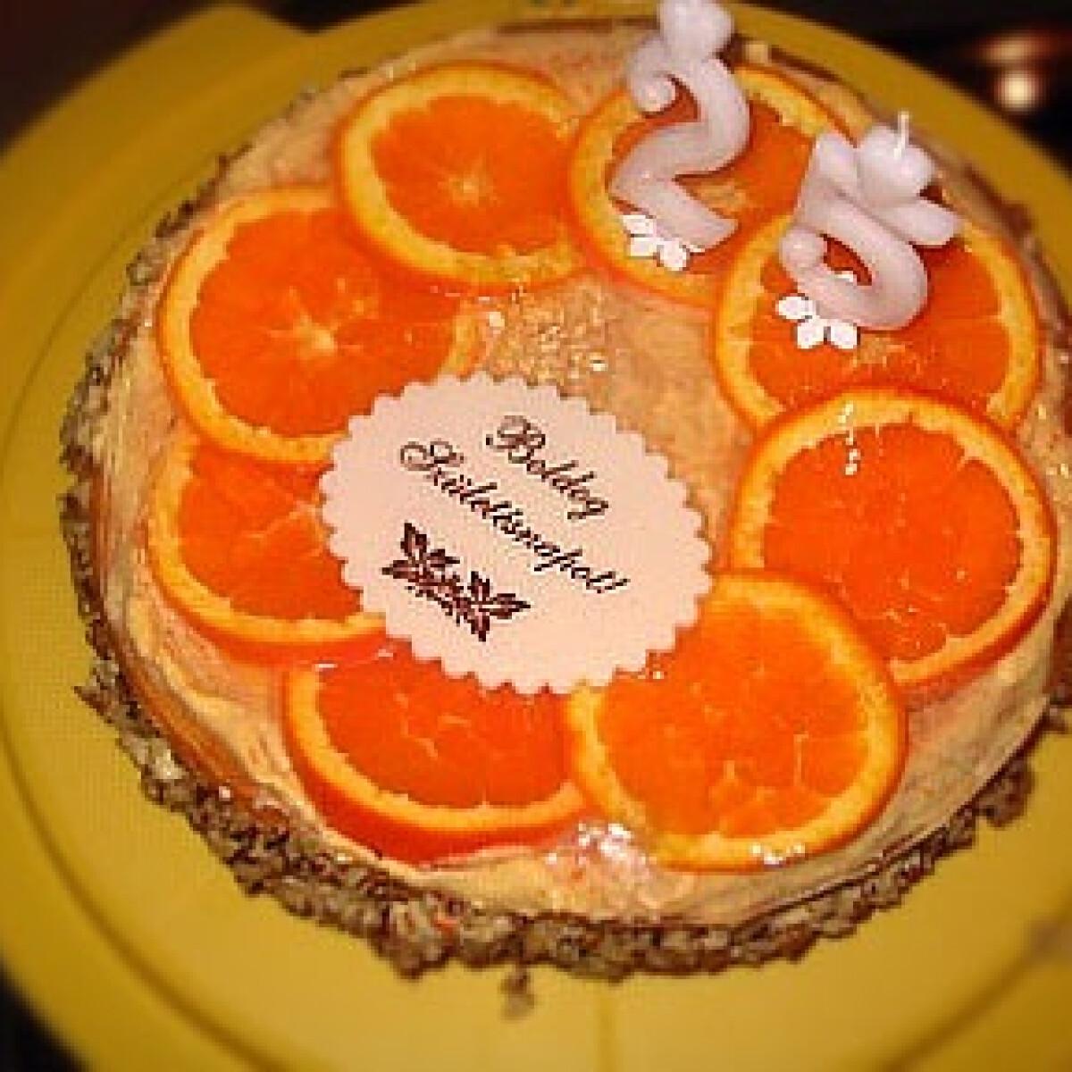 Ezen a képen: Narancstorta 2.