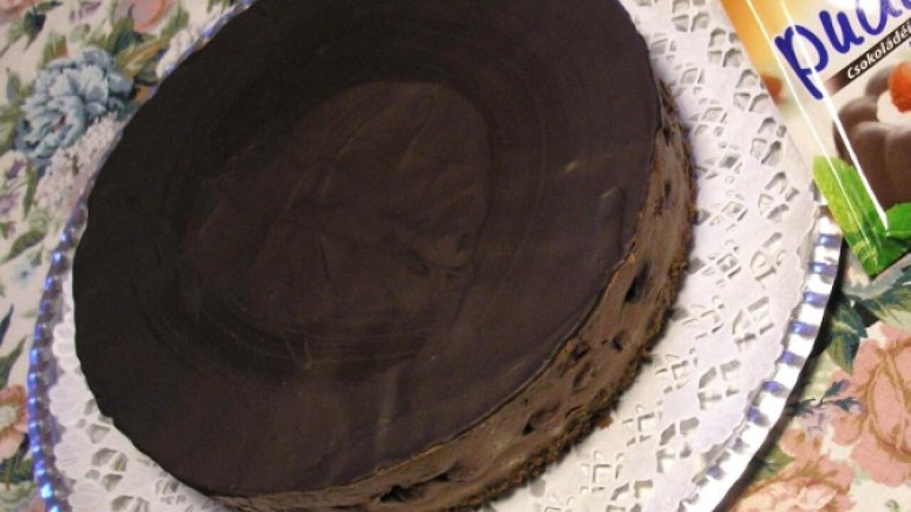 Lúdláb torta fancsali meggyel