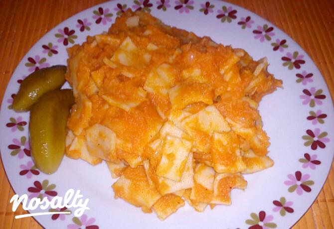 Ezen a képen: Krumplis tészta házi tésztával