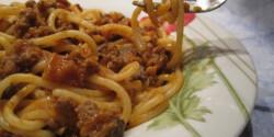 Eredeti bolognai spagetti
