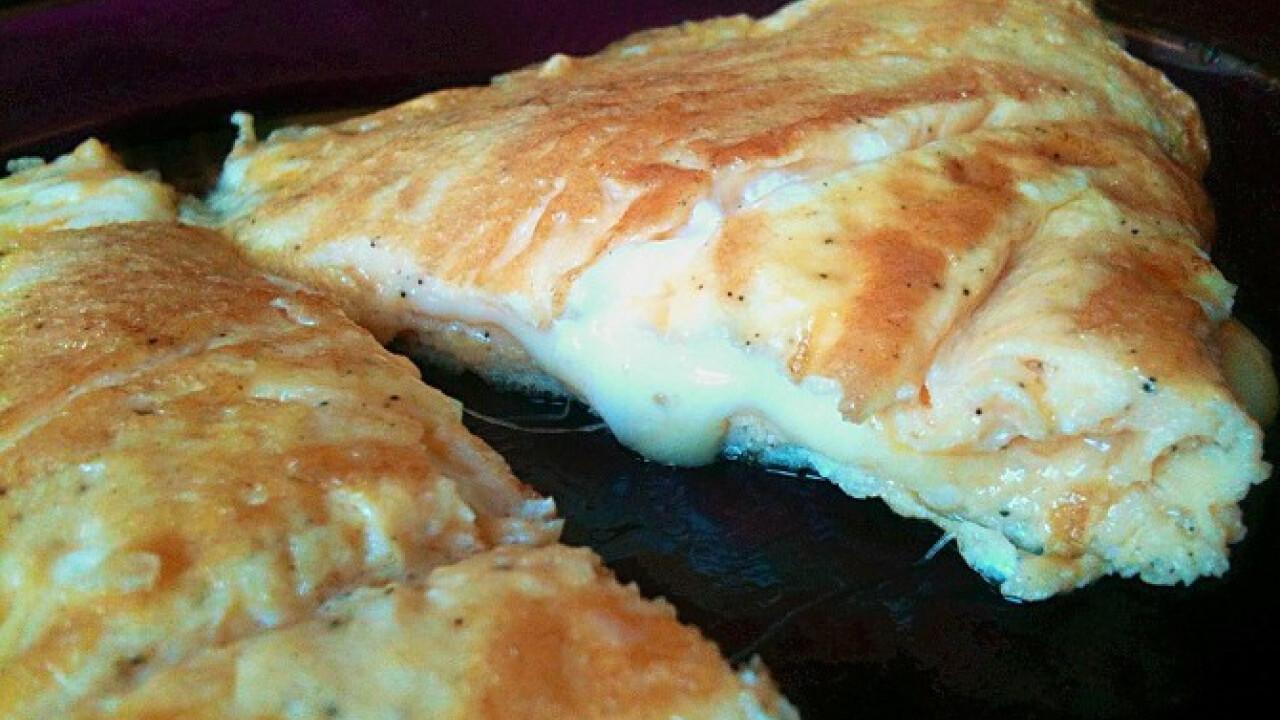 Klasszikus sajtos omlett - Nosalty