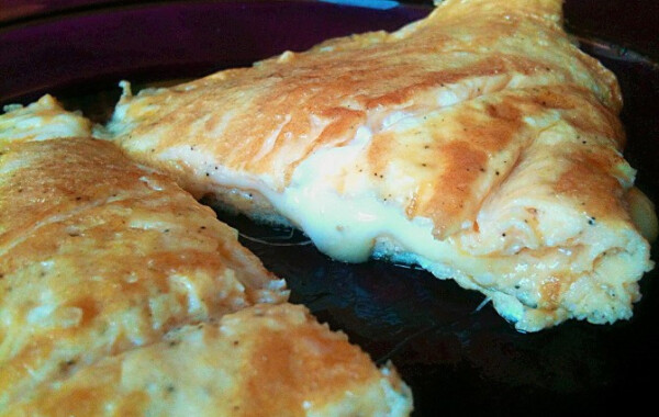 Klasszikus sajtos omlett