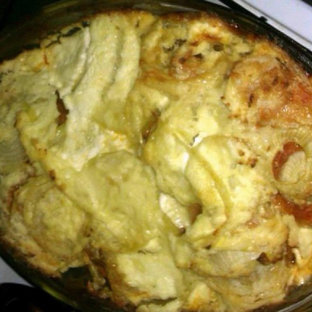 Ezen a képen: Csőben sült hagymás-tejfölös csirkecombok
