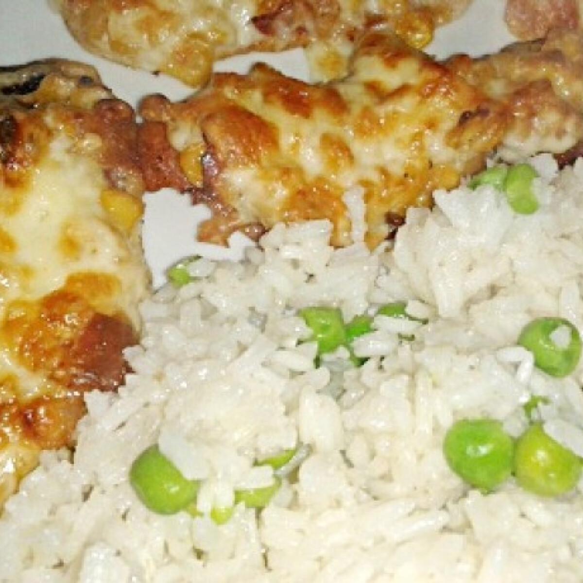 Ezen a képen: Kukoricás csirkemell Rékától