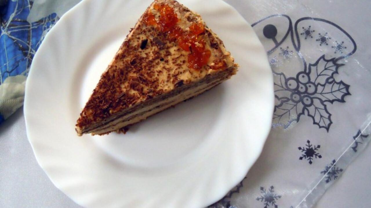 Kívül-belül karamell torta