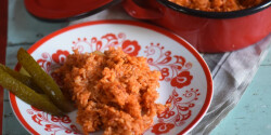 Szaftos bácskai rizses hús