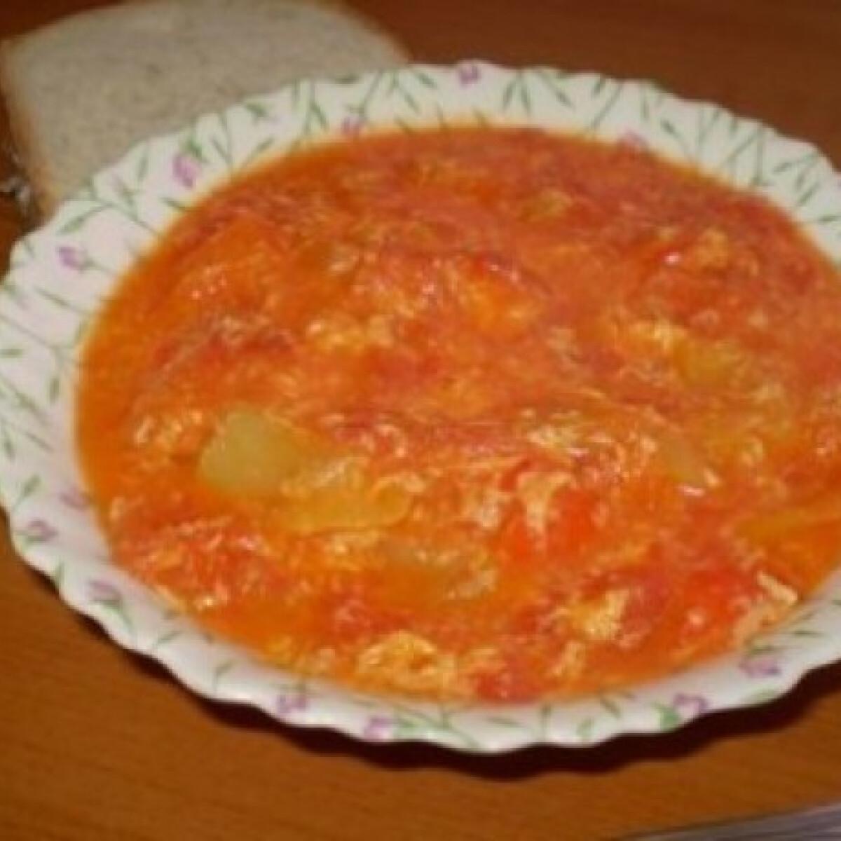 Ezen a képen: Tojásos lecsó 2. - édes