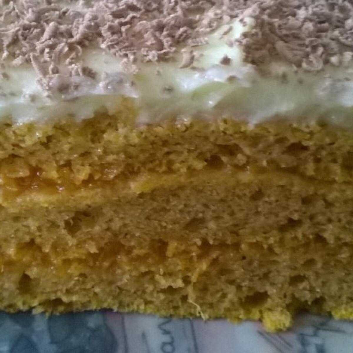 Ezen a képen: Sütőtökös krémes szelet