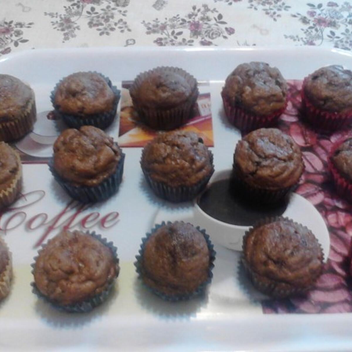 Csokis-banános muffin Karolina konyhájából