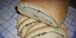 Zöldfűszeres kenyér