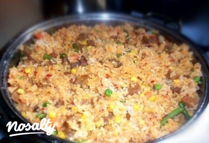 Ezen a képen: Mexikói rizses hús
